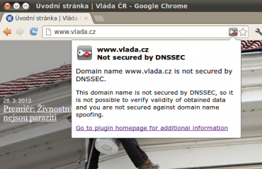 DNSSEC Validator  pro Google Chrome