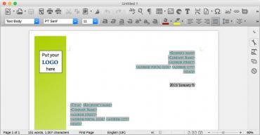 LibreOffice 4.4 na OS X