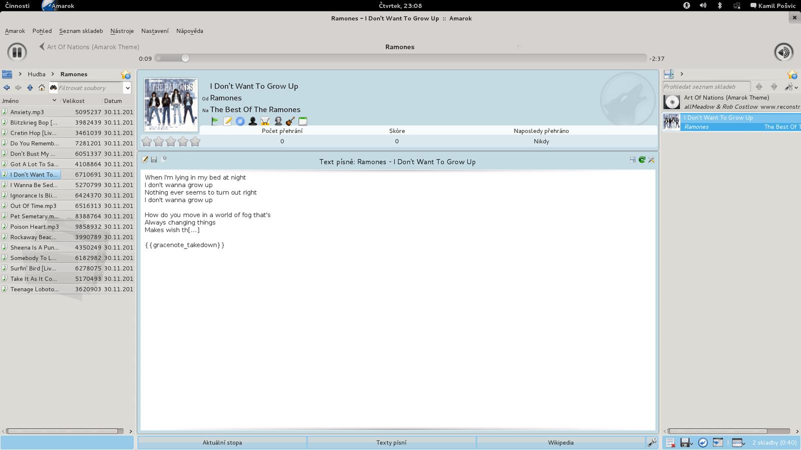 Mageia 3 - uživatelské prostředí GNOME