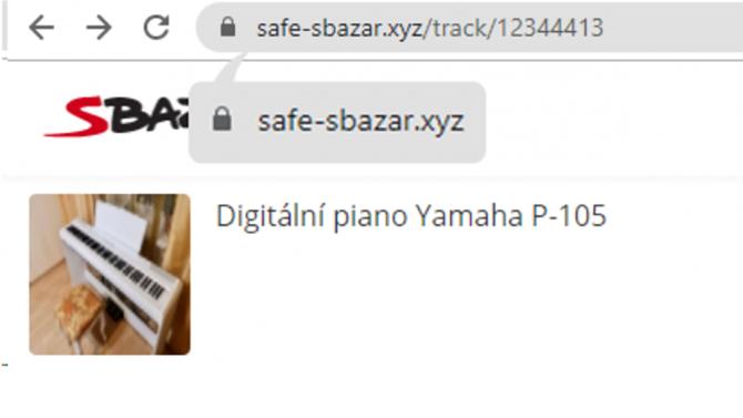 [aktualita] Na Sbazaru řádí podvodníci, snaží se lidem vykrást účty skrze falešný web