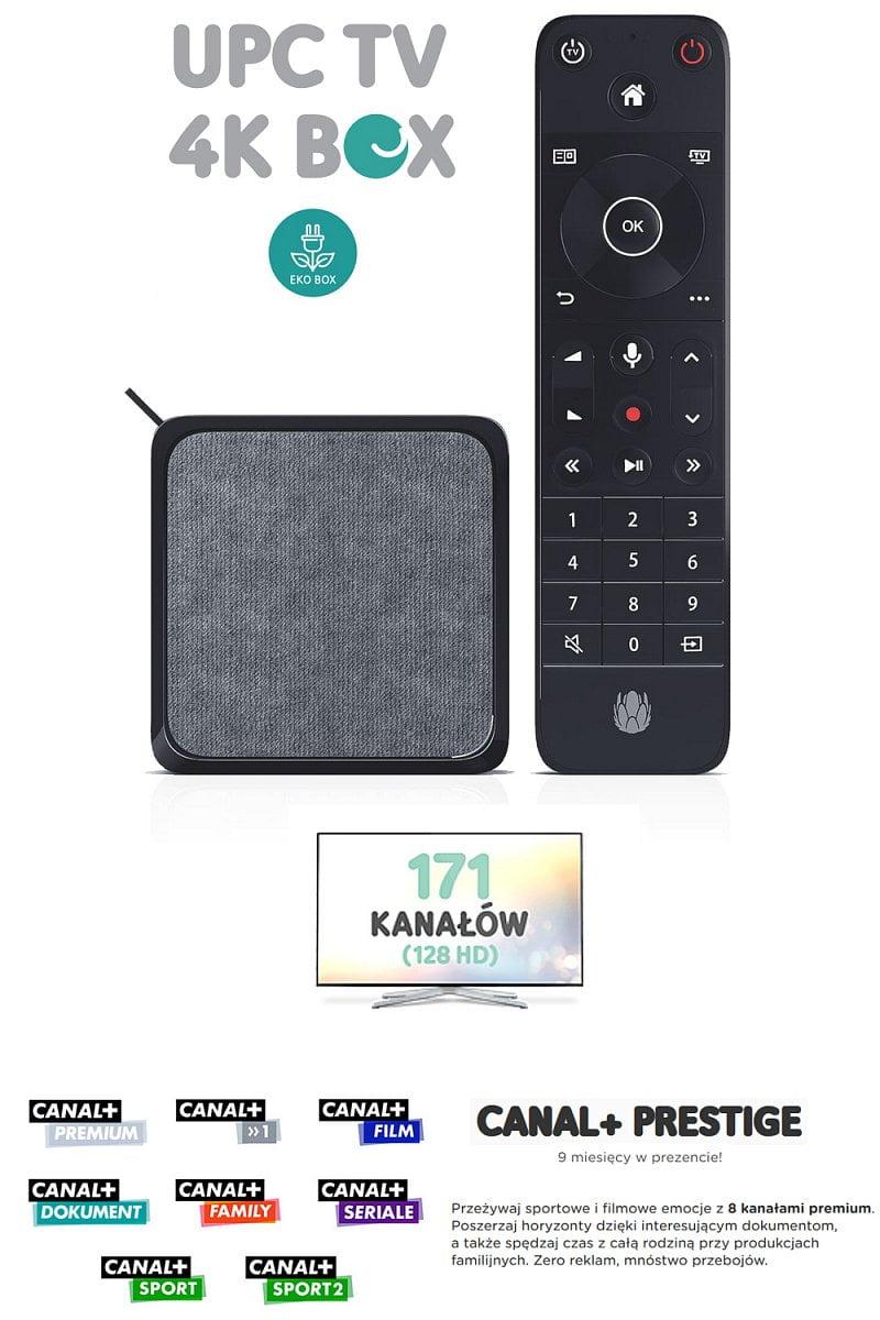 4K Mini TV Box – nabídka UPC Polska