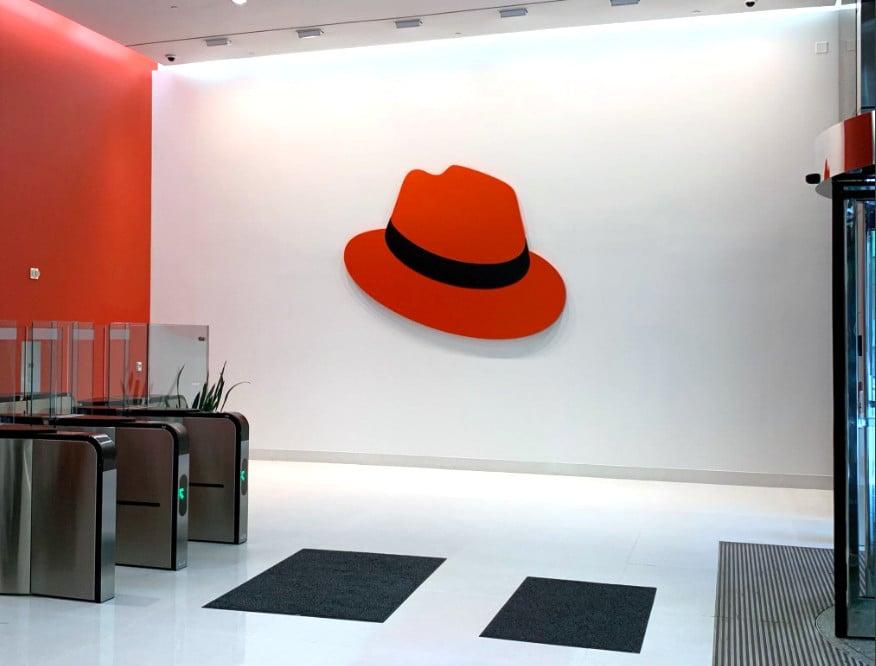 Nové logo Red Hat