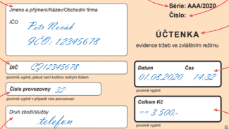 Podnikatel.cz: Tři režimy EET, tři odlišné účtenky