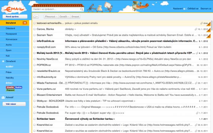 Seznam Email