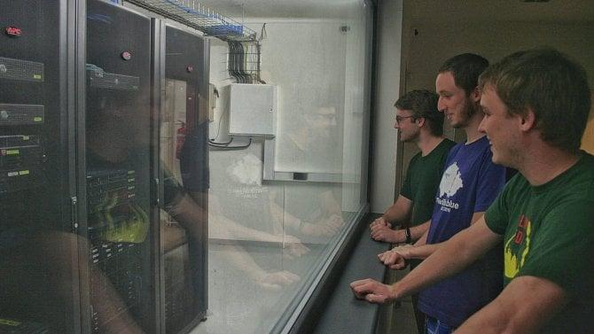 Studenti na Strahově mají novou centrální serverovnu (foto)