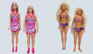 Konec vyzáblých Barbín? Mladík navrhl panenku sběžnými proporcemi