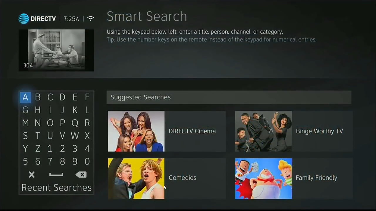 DIRECTV On Demand a Smart Search 2/2