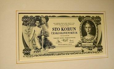 100 Kč bankovka z roku 1931.