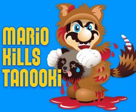 Mario zabíjí psíky mývalovité
