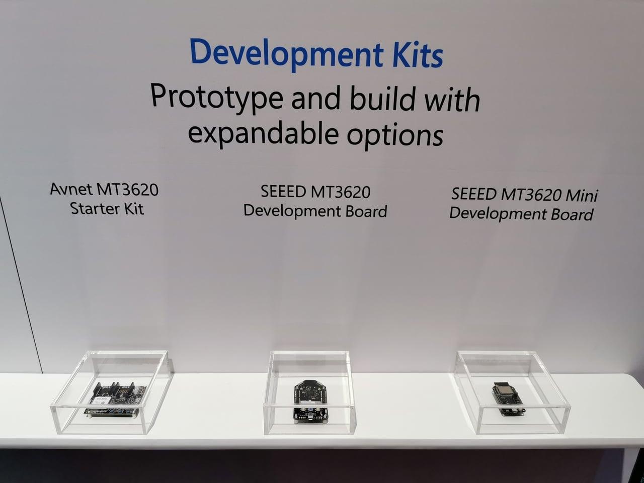 Hardwarové IoT moduly pro Microsoft Azure Sphere