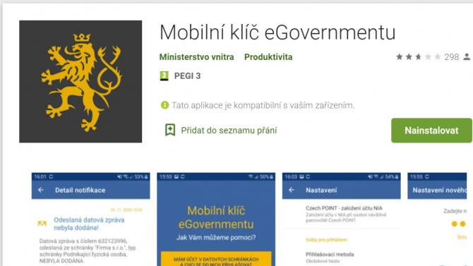 Mobilní klíč českého eGovernmentu: ven ze slepé uličky