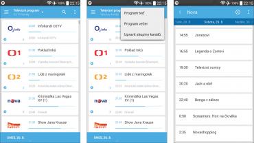 Mobilní aplikace O2TV / O2TV Air