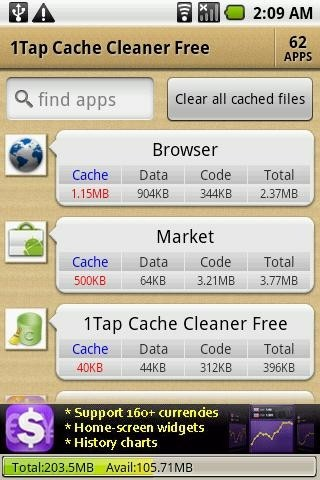 1Tap Cache Cleaner Free