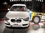 BMW 1 - vysvědčení od Euro NCAP s 5 hvězdičkami
