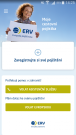 Aplikace Moje Evropská.