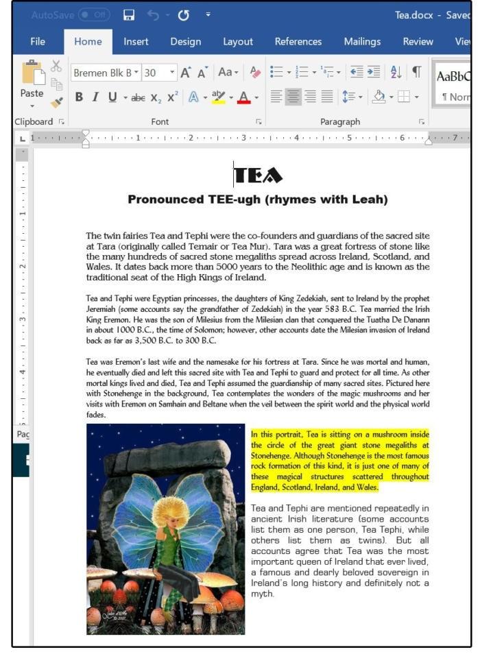 Úpravy a změny v dokumentu typu Adobe PDF provedené v programu Word