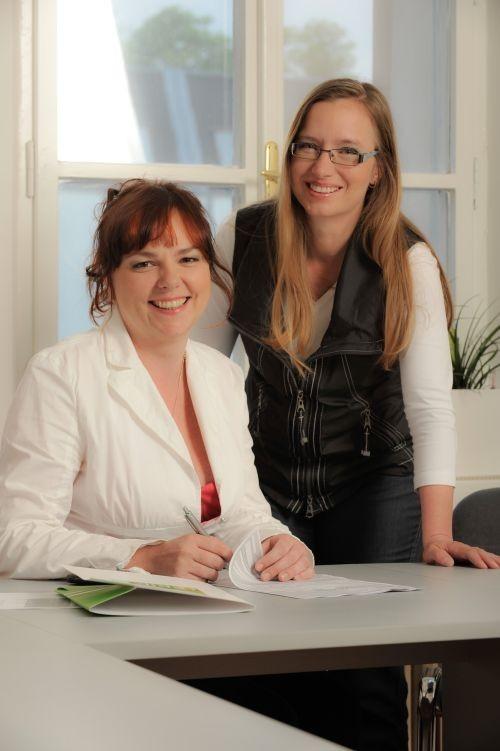 Monika Borkovcová (vlevo), Ivana Ottová