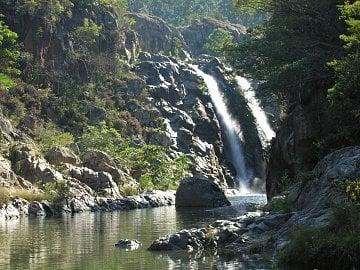 Svazijsko v parku Phophonyane falls.