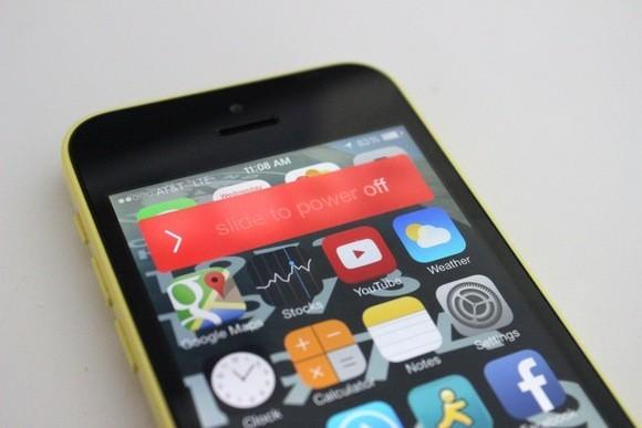 iPhone vypnutí