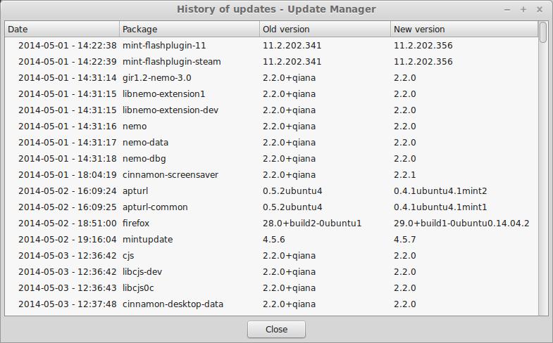 Linux Mint 17 Qiana (MATE)