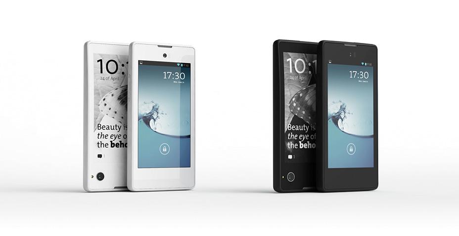 YotaPhone: telefon s e-ink displejem na zádech