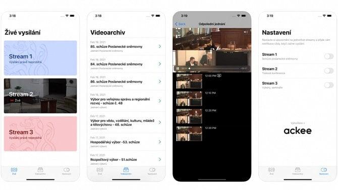 [aktualita] Aplikace iSněmovna streamuje video z jednání poslanců, vznikla z firemního hackathonu