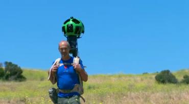 """""""Osobní"""" kamera pro Street View"""