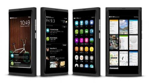 Vizuální rozhraní Nokia N9