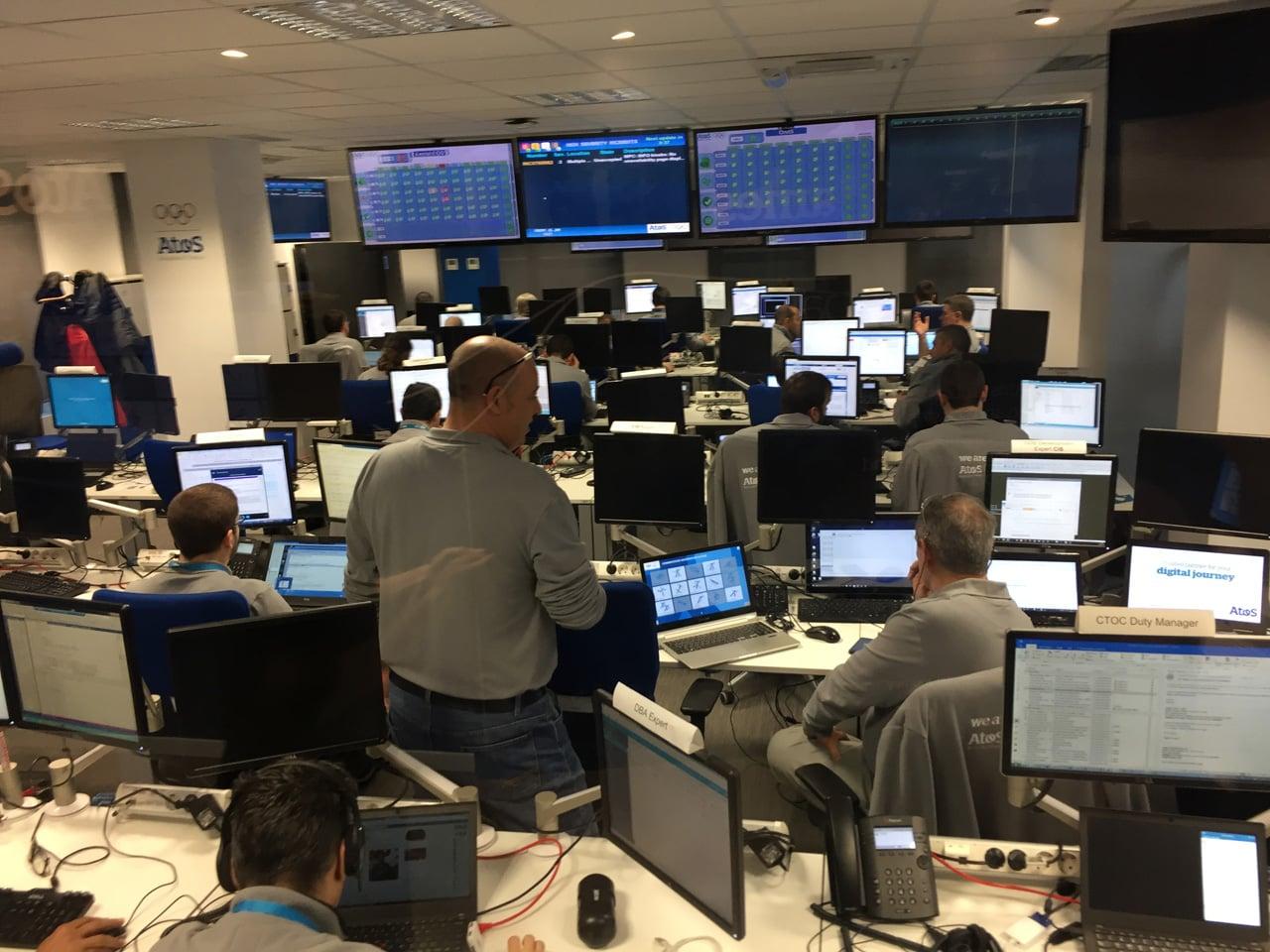 Vzdálené IT operační centrum v Barceloně pro olympijské hry