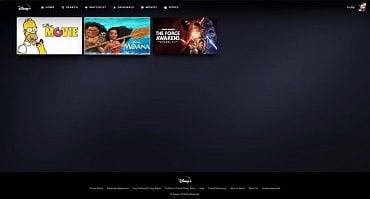 Uživatelský seznam pořadů k dalšímu zhlédnutí (watchlist) v Disney+