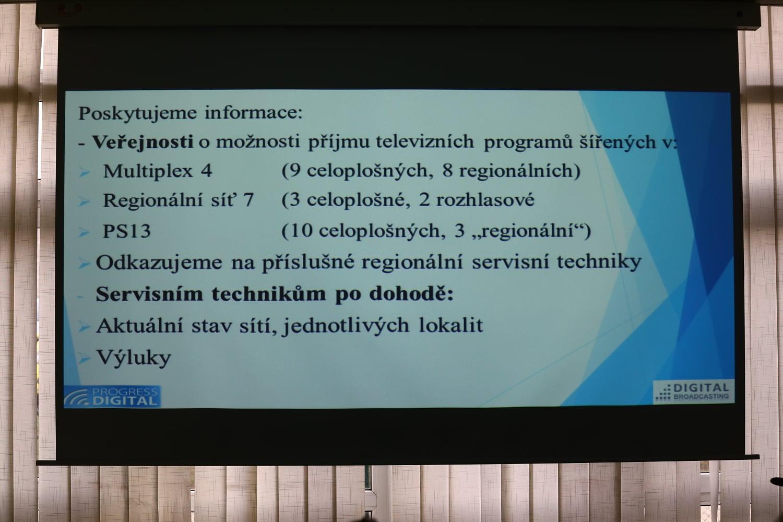 Daniel Kramarz na semináři Digital Broadcasting