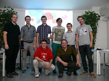 Zástupci vítězných projektů