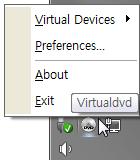 Pomocí VirtualDVD vytvoříte až 24 virtuálních jednotek