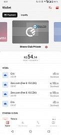 Platební karty Diners Club lze od poloviny května 2021 použivat v aplikaci Curve.