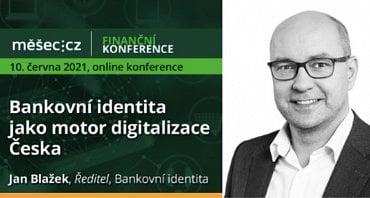 Jan Blažek, ředitel společnosti Bankovní identita.