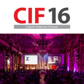 Logo Czech Internet Forum 2016
