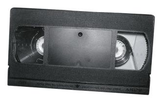 <p>&#160;Kazeta VHS</p>