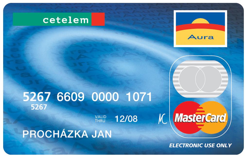 Cetelem platební karta