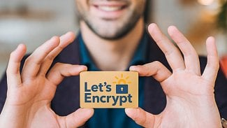 Vizitka Let's Encrypt