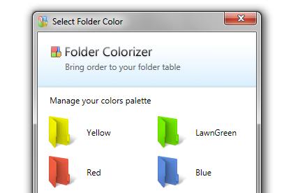 Pomocí Folder Colorizer si změníte barvy složek