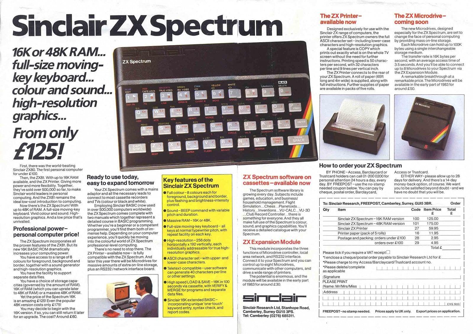 Legendární ZX Spectrum slaví 35 let