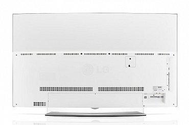 Čistá zadní strana OLED televizoru LG EG960. Nad něčím takovým se už dá při prostorové instalaci uvažovat!