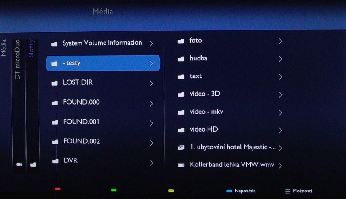 Philips 24PFS5231 – multimédia