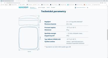 Veškerý servis čidel zajišťuje český výrobce Senzoor, uživatelé tak mají k dispozici zákaznickou linku nebo webové formuláře.