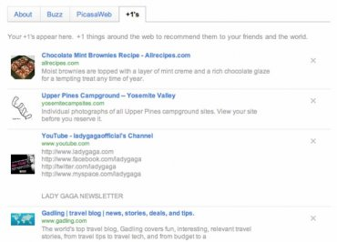 Google Profil s +1