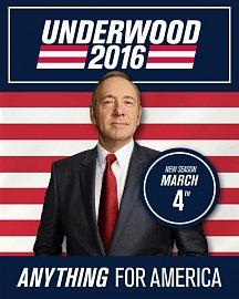 Čtvrtá řada seriálu House of Cards je Netflixem ohlášena na pátek 4. března 2016.