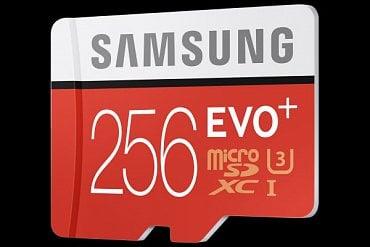 Samsung Evo Plus 256GB.