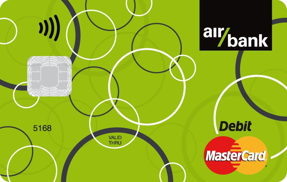 Air Bank platební karta