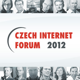 Logo Czech Internet FORUM 2012