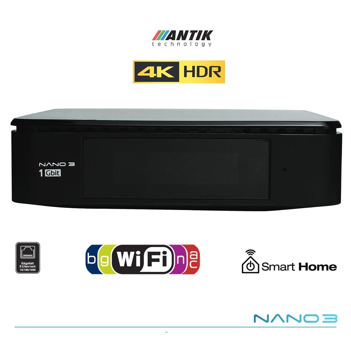 Model Nano 3 Giga pro službu Antik TV Optika